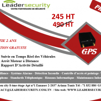 Leader Security Tunisie :GPS