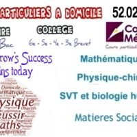 COURS PATICULIERS A DOM ELEVE