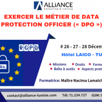 "Formation ""Exercer le métier de Data Protection Officer -DPO"""