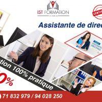 IST Formation Tunisie - Assistante de direction