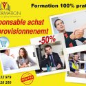 Formation Tunisie - Responsable  Achat et Approvisionnement