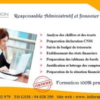 formation adiministratif financier