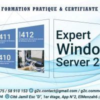Formation Windows Server 2012: (+216) 23 580 745