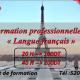 Formation langues Français